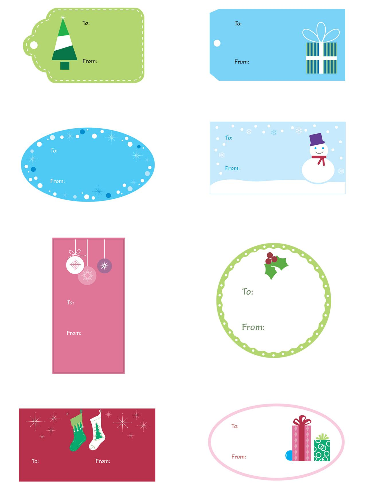 photo regarding Gift Tag Printable Free named Totally free Xmas Templates: Printable Reward Tags, Playing cards, Crafts