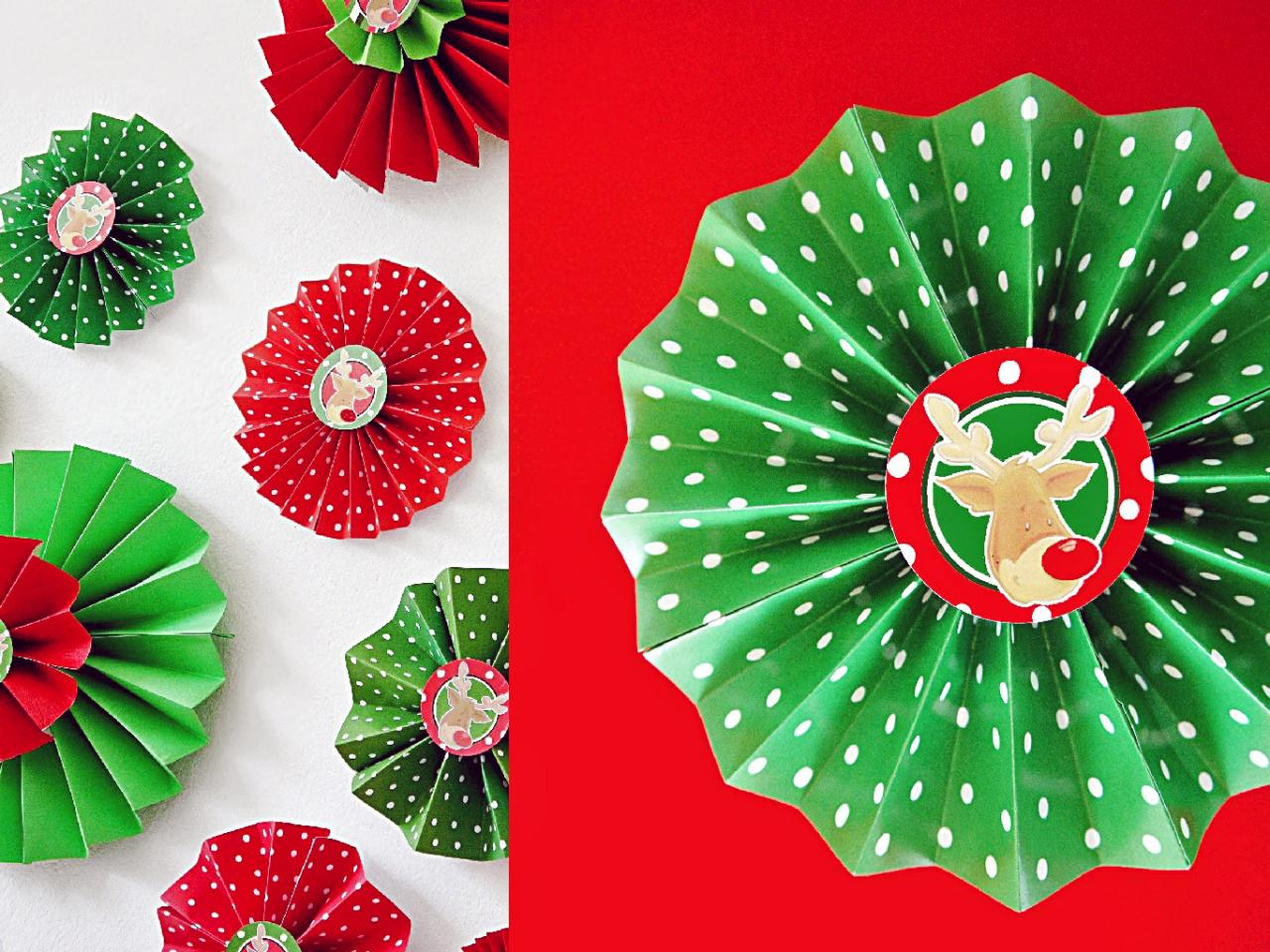 How To Make Folded Paper Rosettes