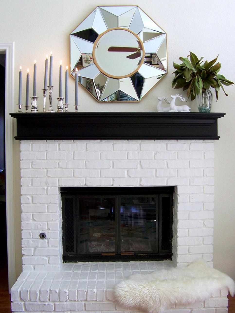 fireplace decor ideas decorate your mantel for winter hgtv 12947