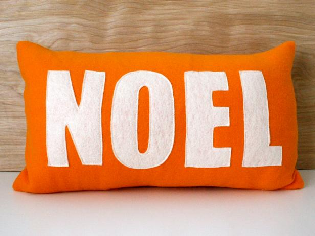 Handmade Holiday Pillow