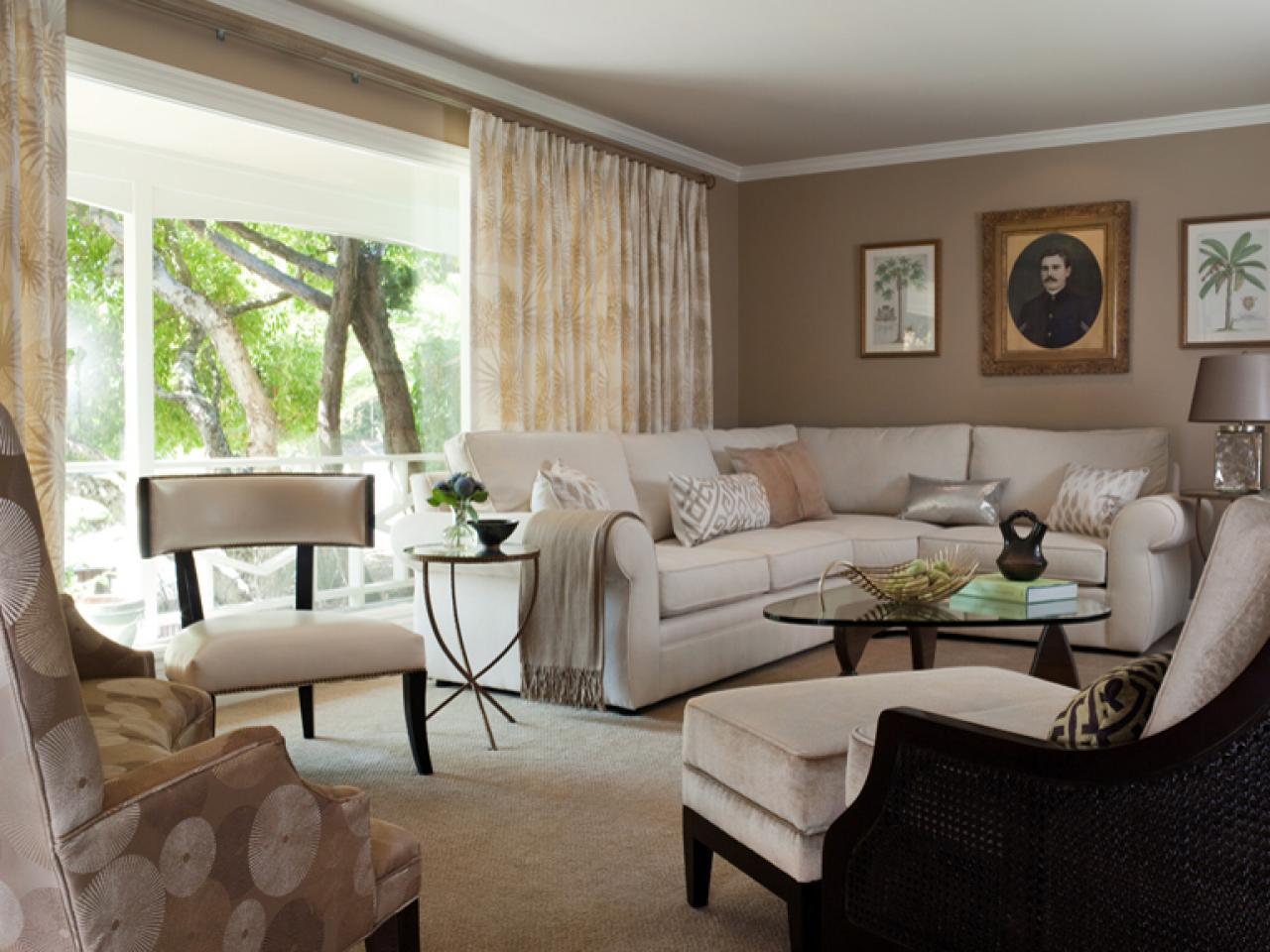 Contemporary Living Room Makeover | Jean Larette | HGTV