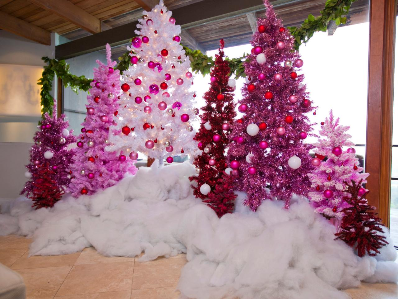Celebrate Christmas In Shades Of Pink