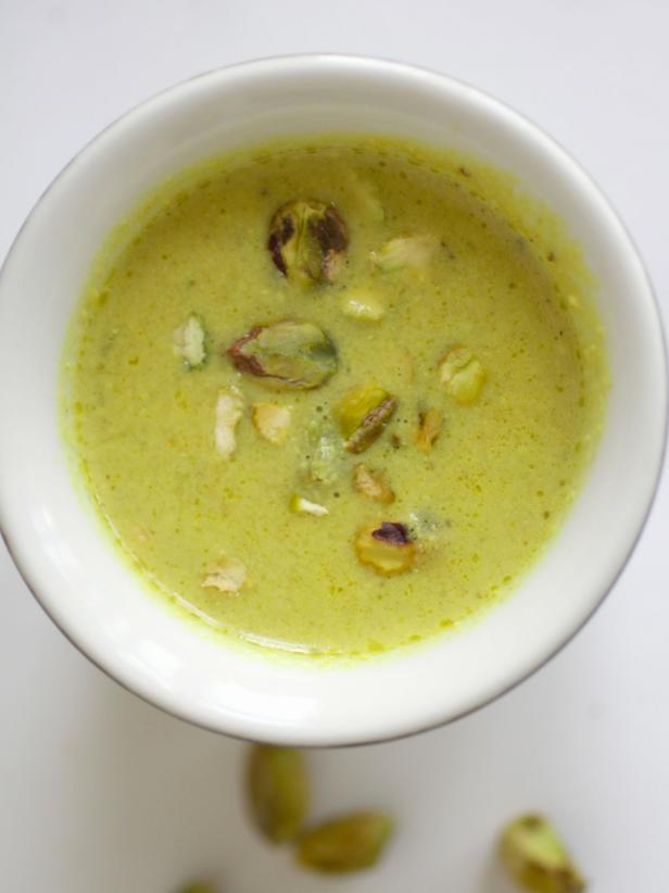Spiced Pistachio Soup