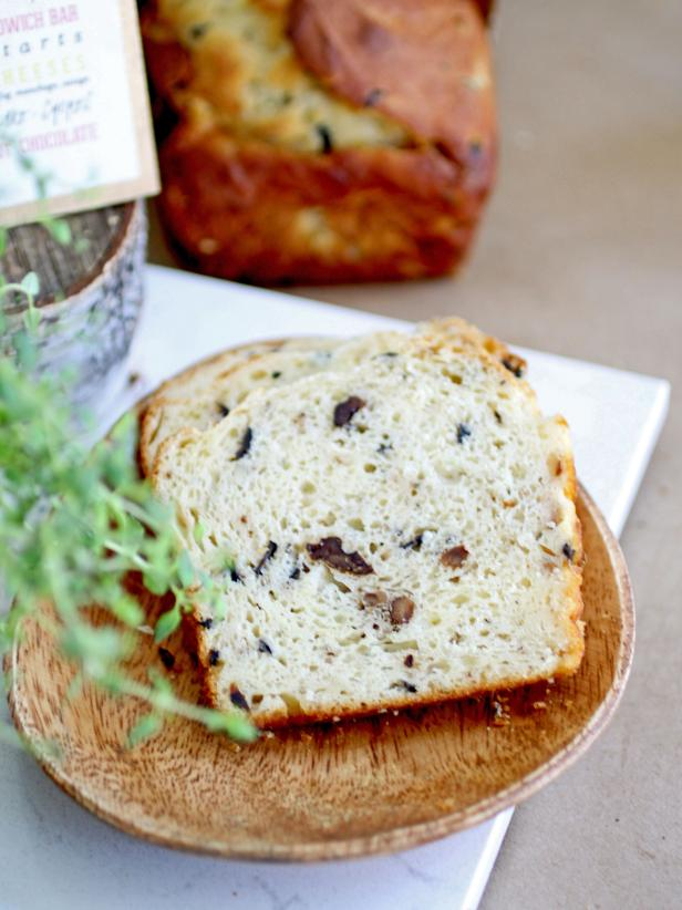 Walnut-Rosemary Olive Bread Recipe