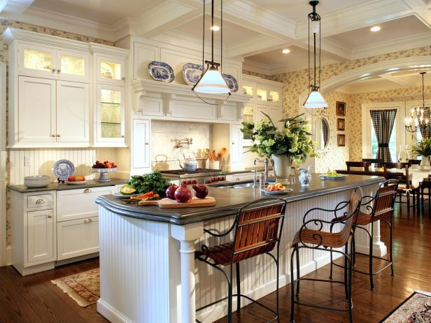 Captivating Cottage Style Kitchen