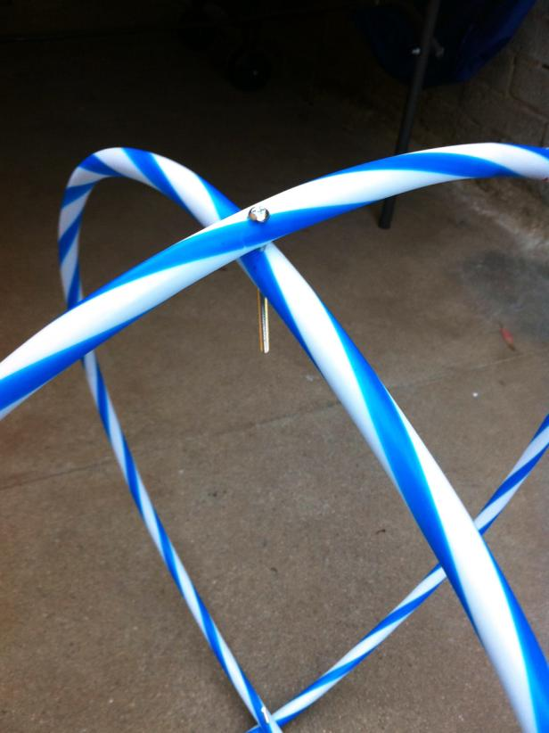 How To Make A Hula Hoop Chandelier Hgtv