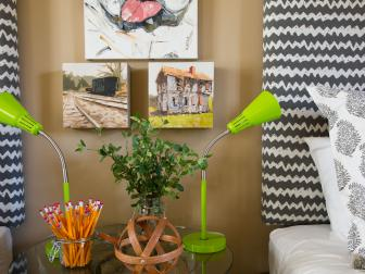 Eclectic Kids Room from HGTV Smart Home 2012