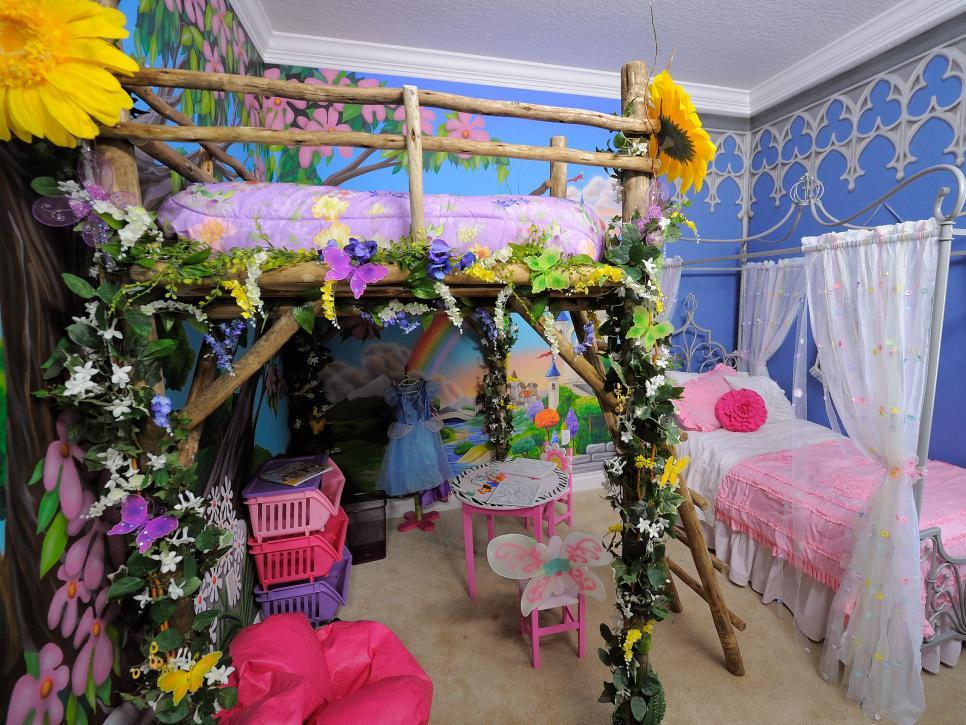 A Little Disney Magic Makes Three Wondrous Kids\' Rooms | HGTV