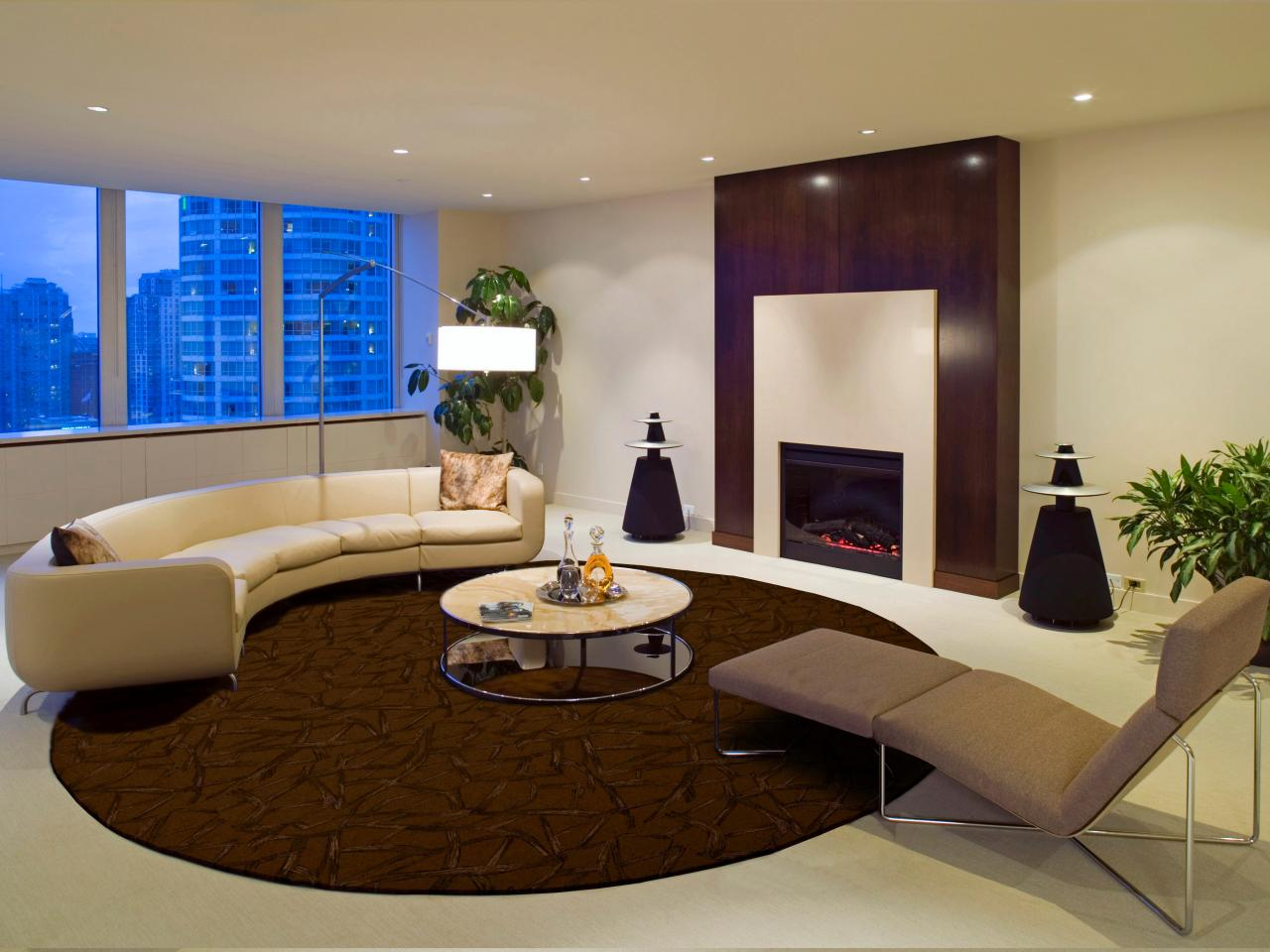 Choosing the best area rug for your space hgtv - Living room area rugs contemporary ...