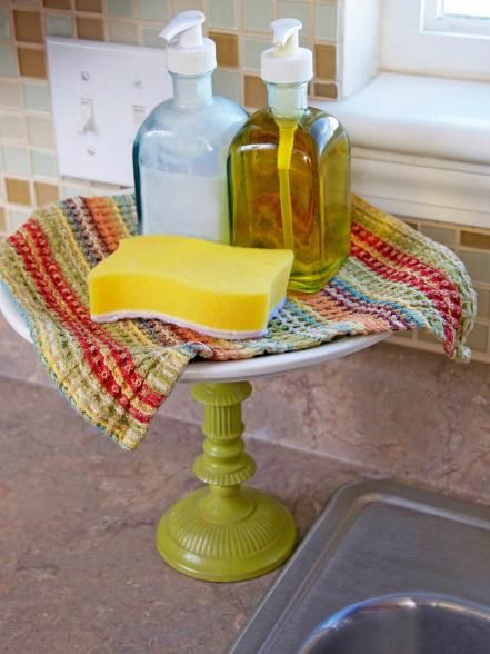 An Elevated Soap Dish