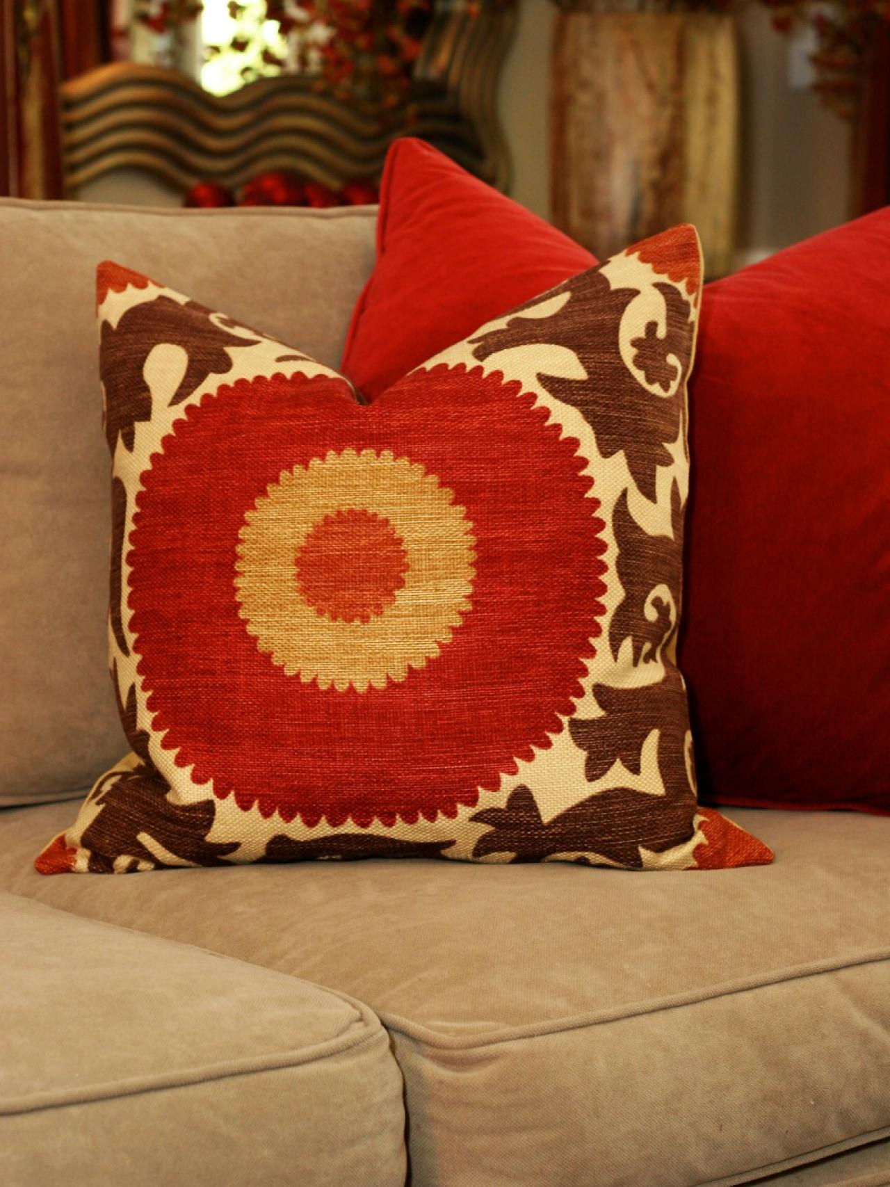 decorative pillows living room photo page hgtv 16083