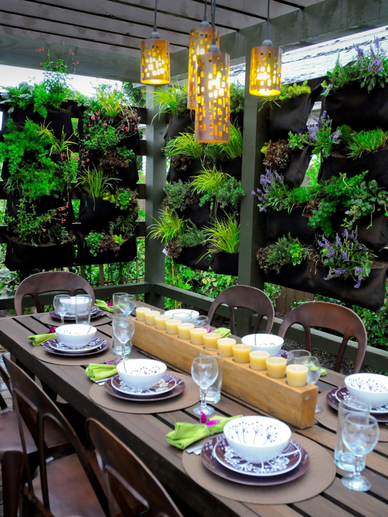 Plant A Vertical Garden Living Privacy Wall