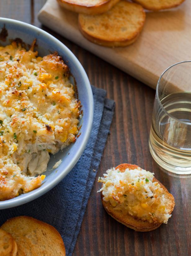Crab Dip on Crostini