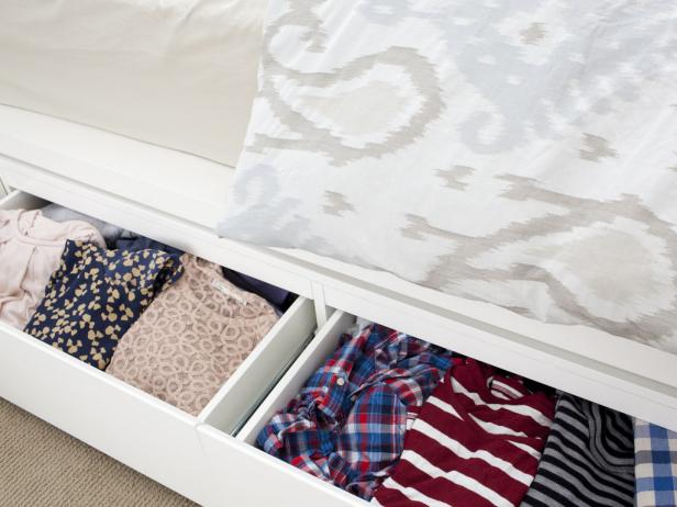Under Bed Clothing Drawers