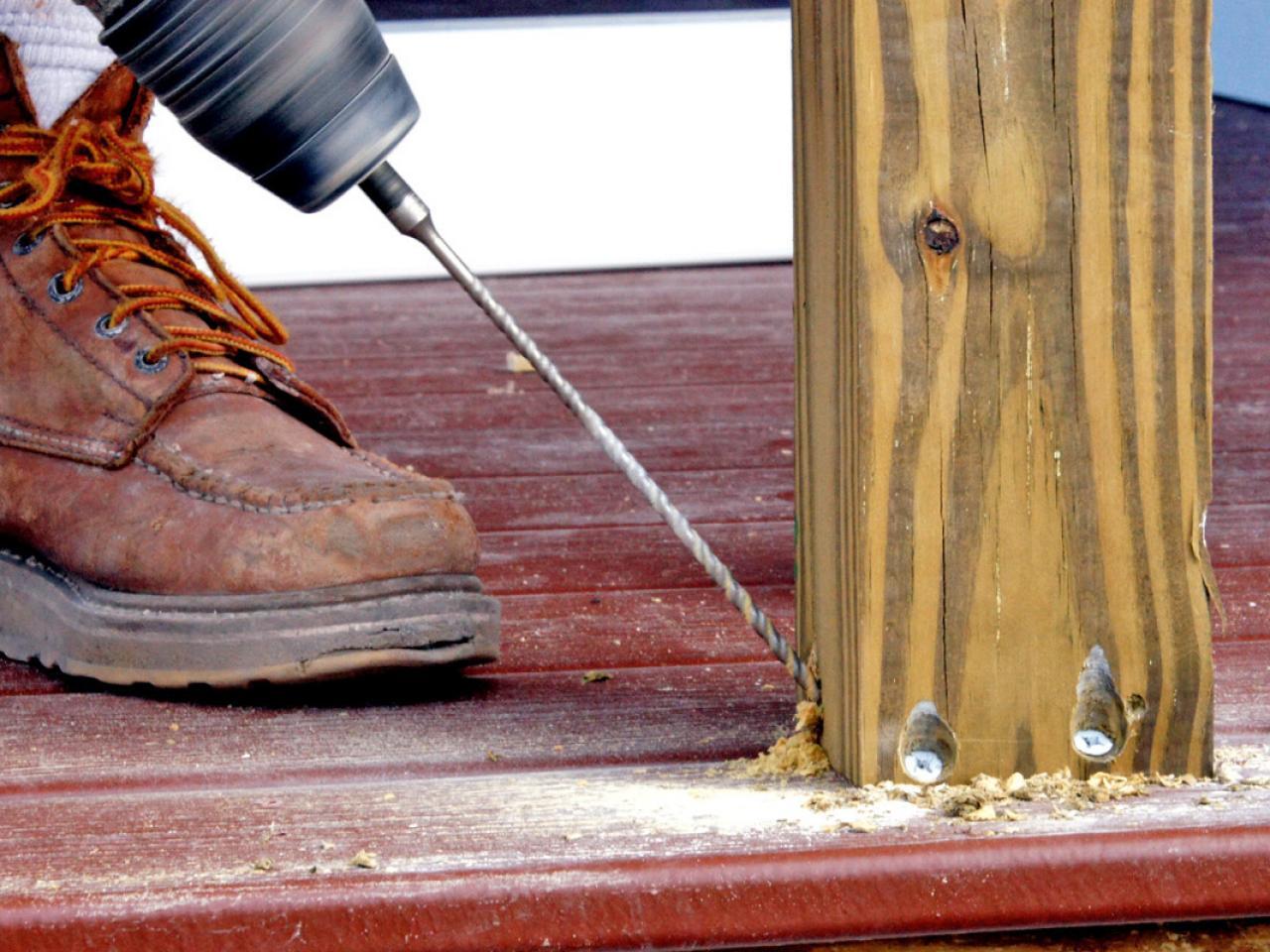 How to Install a Porch Railing | HGTV