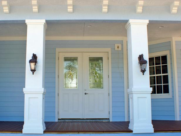 Front Porch with Columns