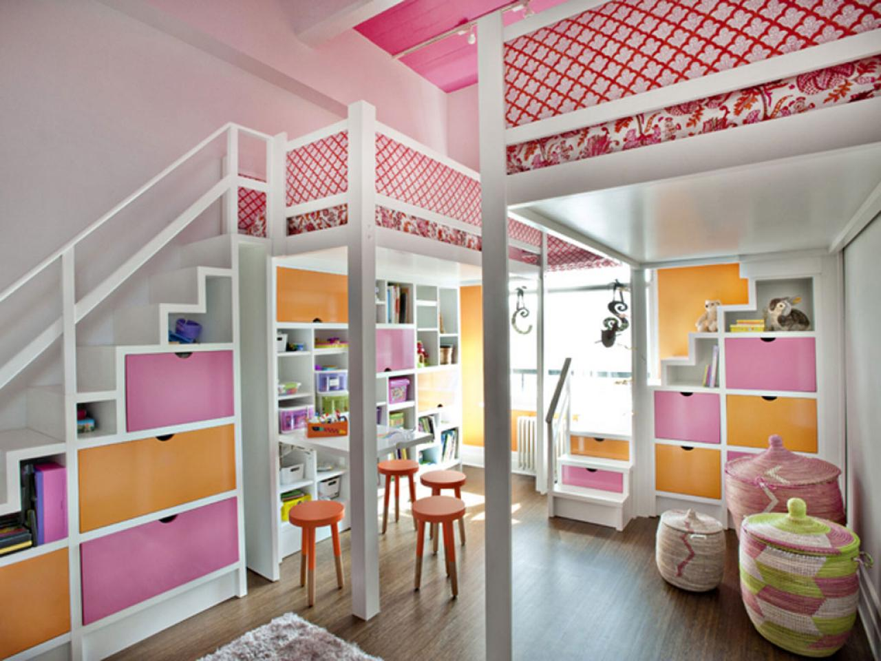 10 beds that look good and have killer storage too hgtv 4 beds in one room