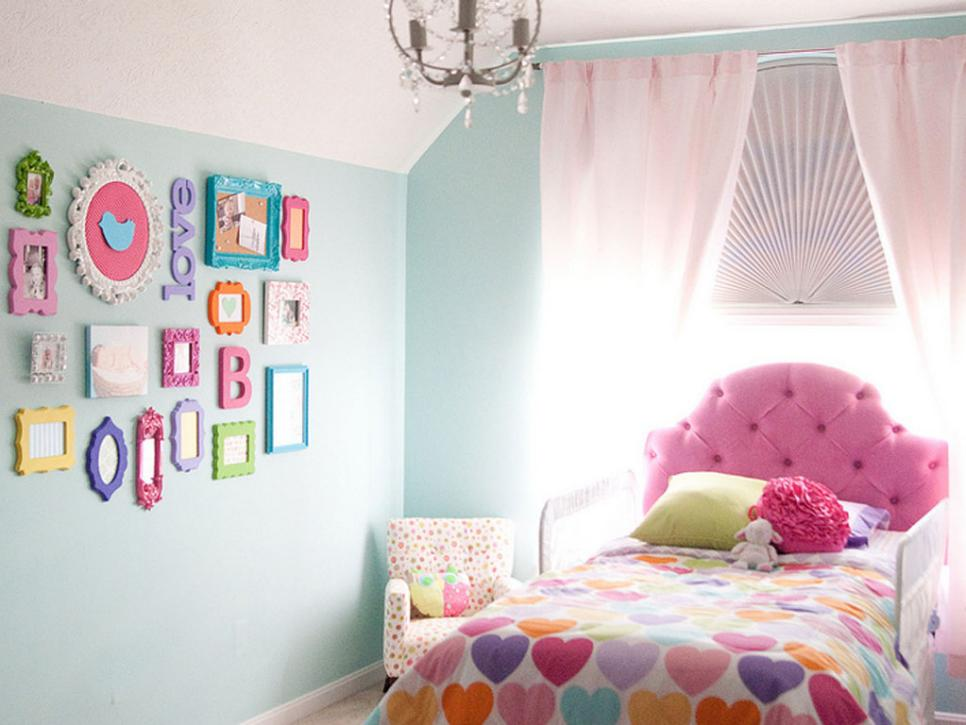 Affordable Kids' Room Decorating Ideas HGTV Unique Bedroom Decorations Cheap