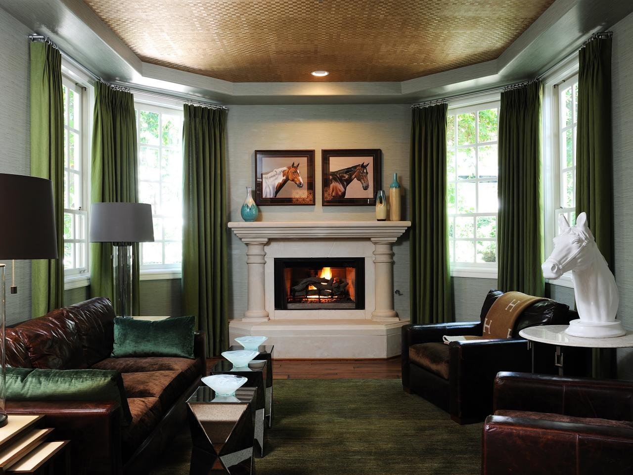 equestrian living room photo page hgtv 10511