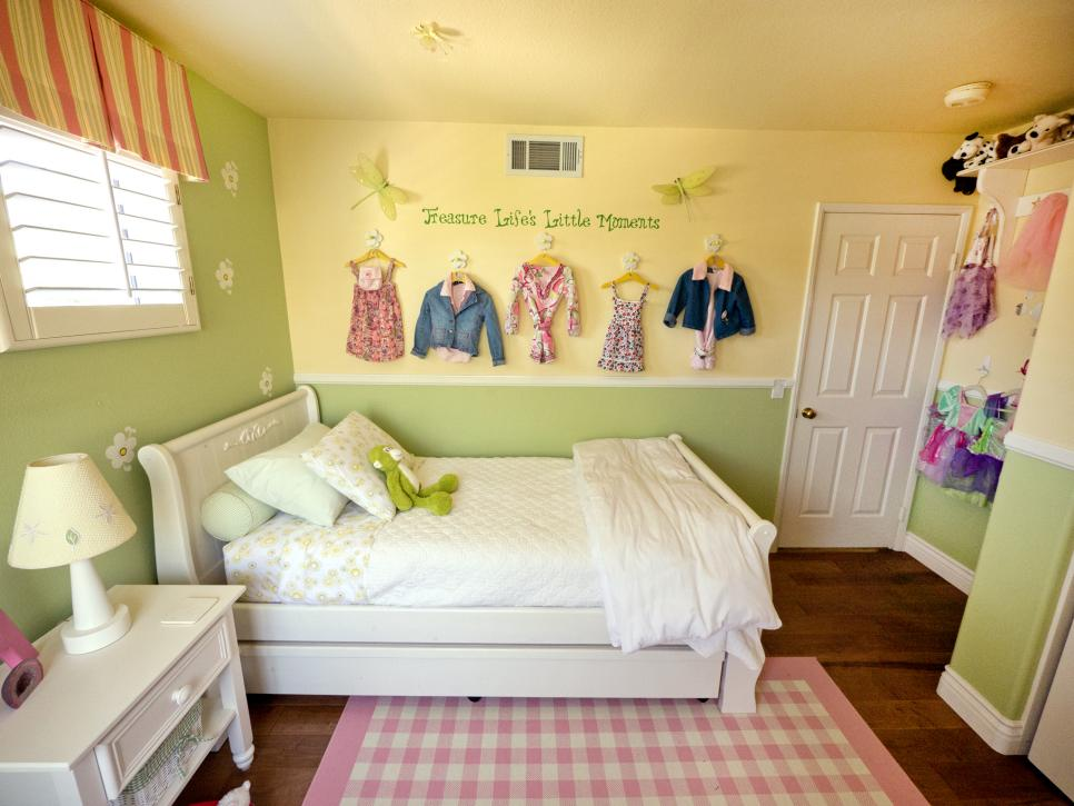 A multifunctional little girl 39 s room in a small space hgtv - Mature teenage girl bedroom ideas ...