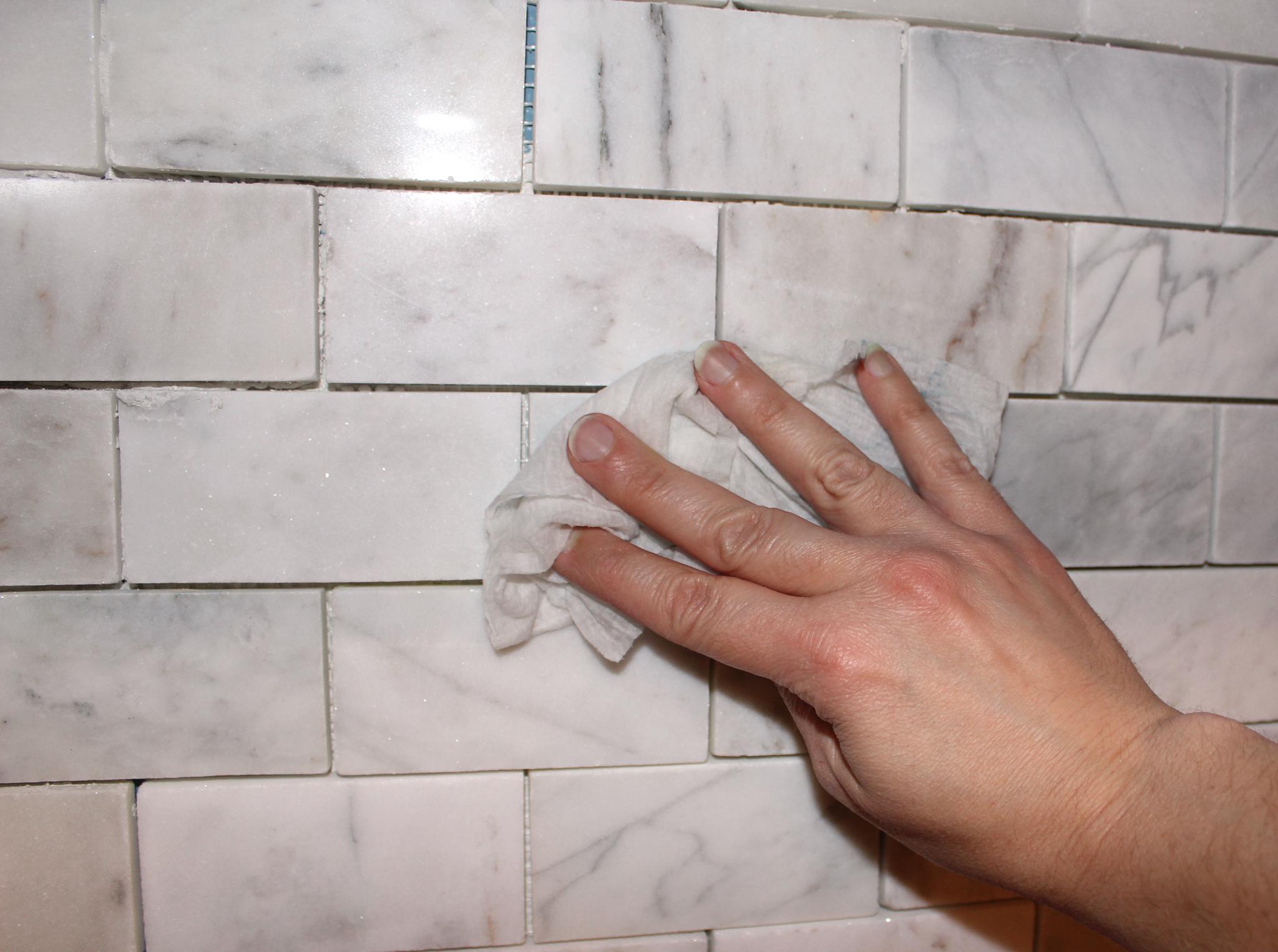 Installing marble tile backsplash columbialabelsfo how to install a marble tile backsplash hgtv dailygadgetfo Gallery