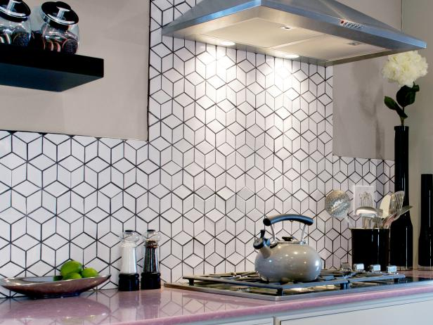 Diamond Backsplash