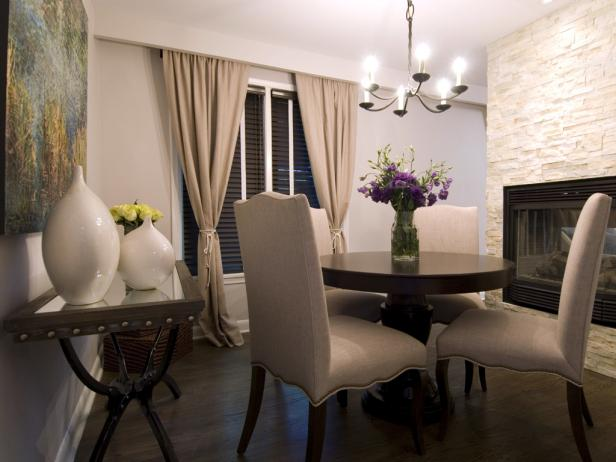 Chic Neutral Dining Room