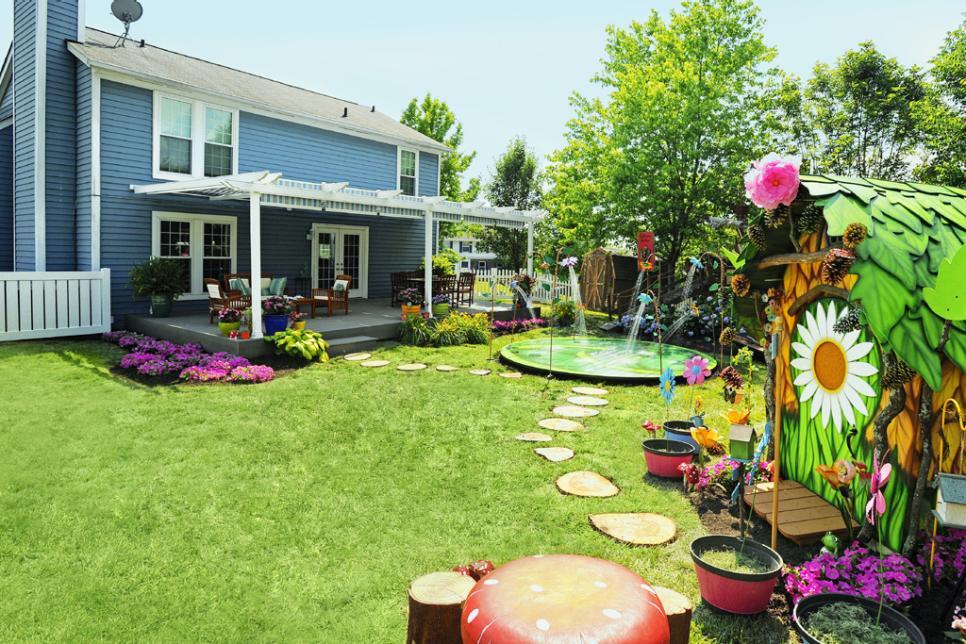 Magical Backyard Makeovers | HGTV on Hgtv Backyard Designs id=87744