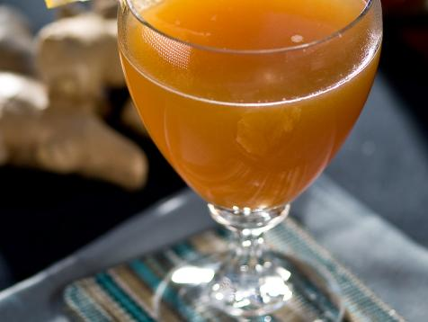 Hot Apple-Ginger Toddy Recipe