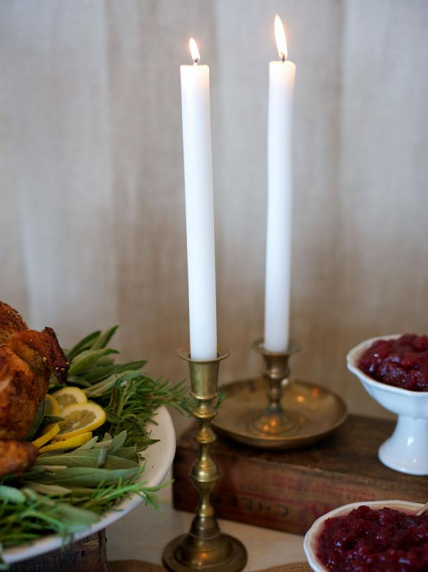 Use Candles to Add Ambiance to Your Thanksgiving Table