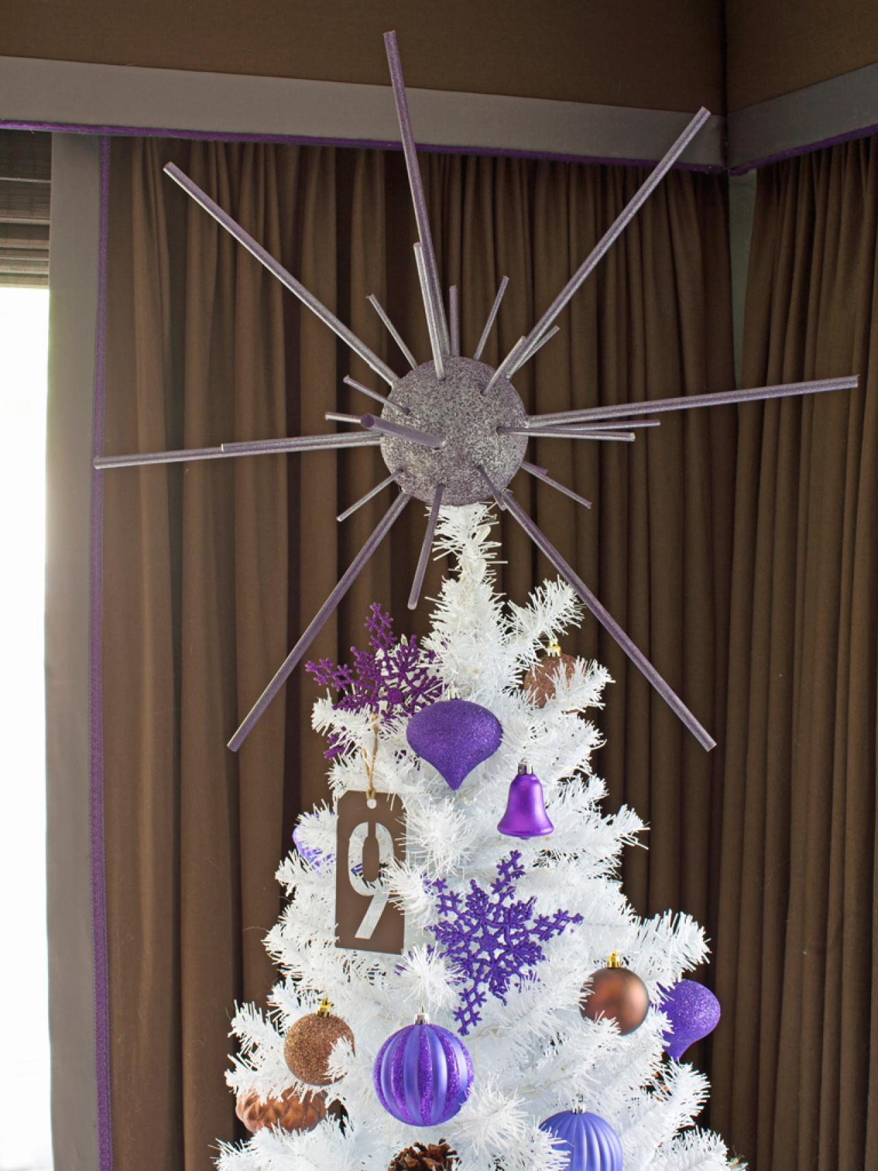 How to Make a Starburst Christmas Tree Topper