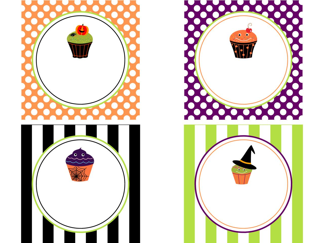 cute labels for halloween goodie bags