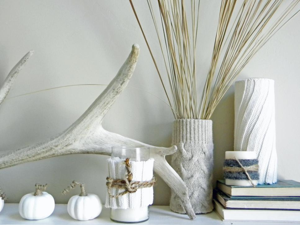 Decorate Your Mantel For Winter