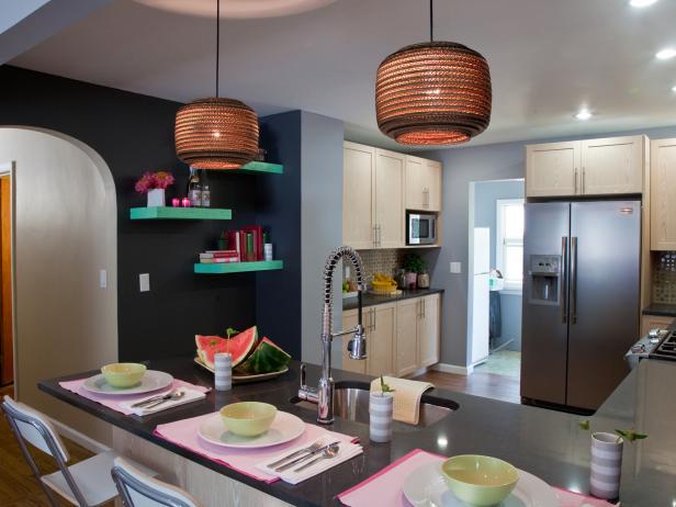 Photo page hgtv for Que color puedo pintar mi cocina