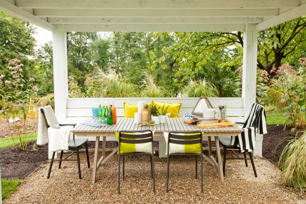 10 Ways To Make The Most Of Your Tiny Outdoor Space Hgtv S Decorating Design Blog Hgtv