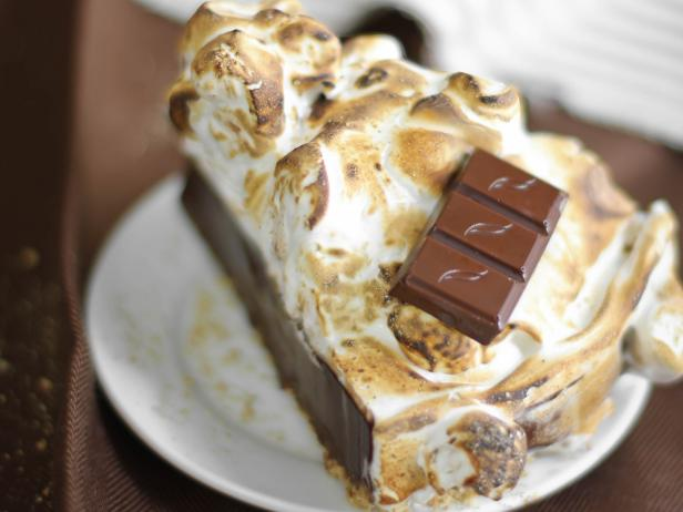 Spiked S'Mores Pie Slice