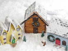 Three Stunning Gingerbread Houses