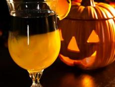 black magic halloween cocktail recipe