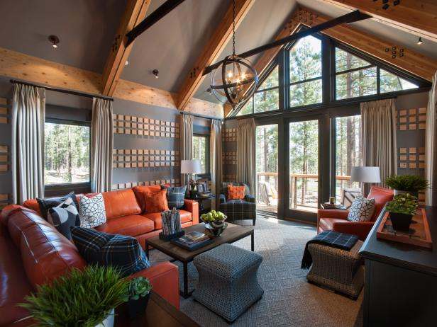 Family Room Pictures From HGTV Dream Home 2014