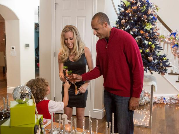 Kendra Wilkinson With Family at Christmas