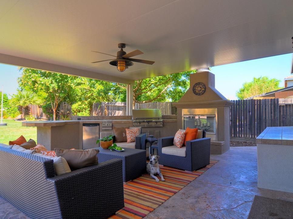 Fine Cheap Outdoor Kitchen Ideas Hgtv Download Free Architecture Designs Sospemadebymaigaardcom