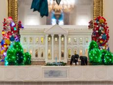 White House Gingerbread Replica
