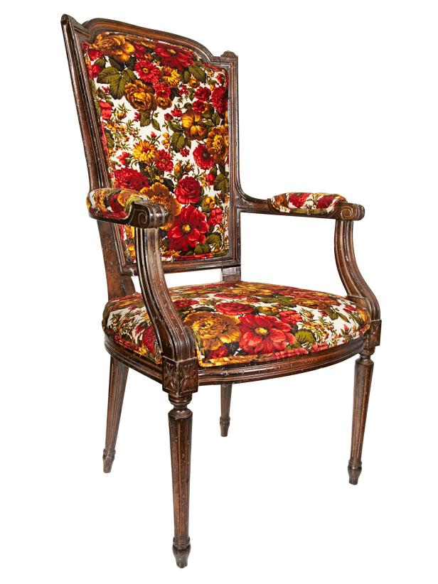 Merveilleux Rehabbed And Reupholstered Chairs