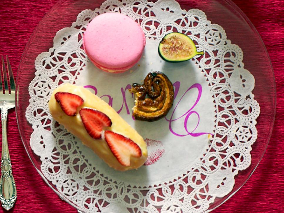Valentine's Day Eclairs Recipe