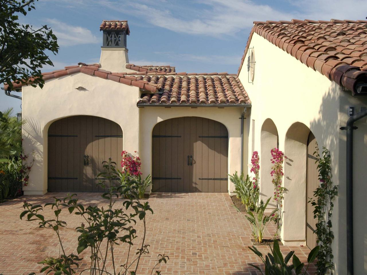 Spanish Style Home Garage Hgtv