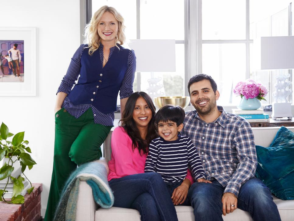 Rachna's family