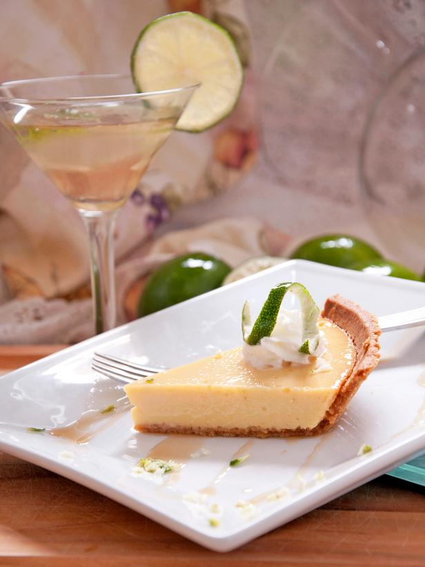 Spiked Key Lime Margarita Pie