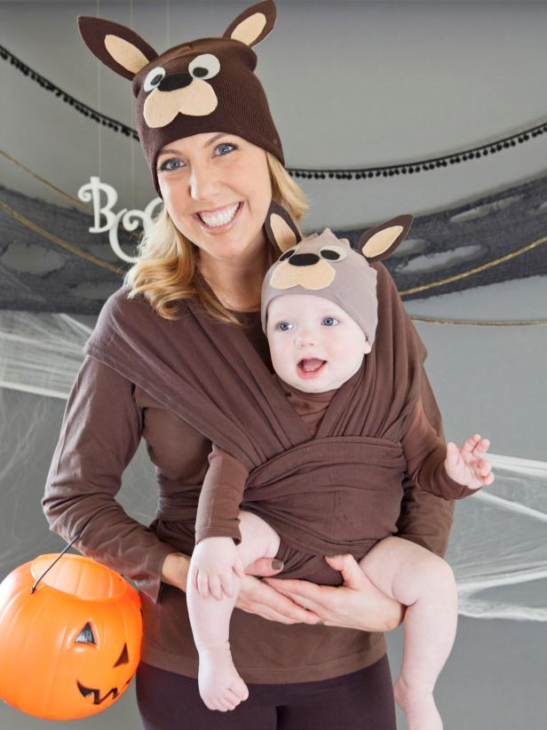 Mom And Baby Boy Halloween Costume Ideas.Make A Matching Mom And Baby Kangaroo Costume Hgtv