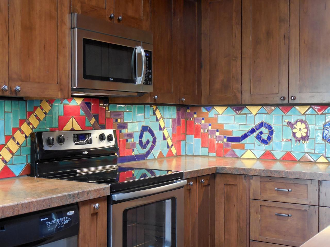 tags - Ceramic Tile Kitchen Backsplash