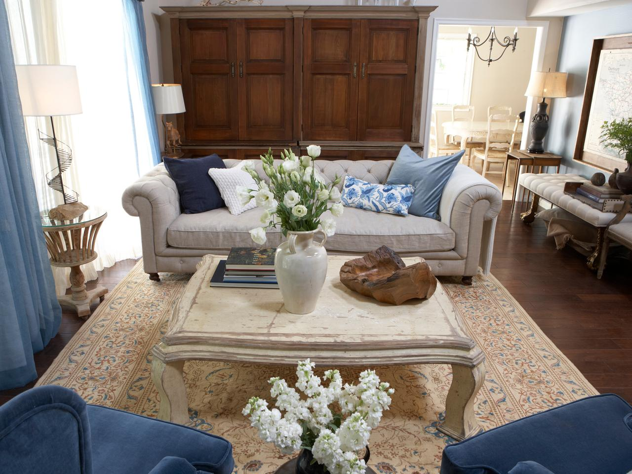 cream living rooms photo page hgtv 11203